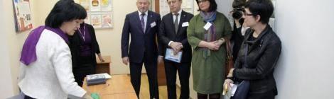 В рамках Декады инвалидов депутаты фракции «Единая Россия» посетили «Центр «Динамика»