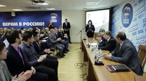 «Единая Россия» поздравила петербургскую команду КВН с выходом в Высшую лигу