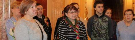Экскурсия в Законодательное Собрание Санкт-Петербурга