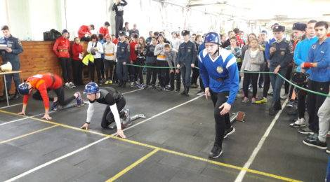 Юные пожарные показали себя на Чемпионате по пожарно-прикладному спорту