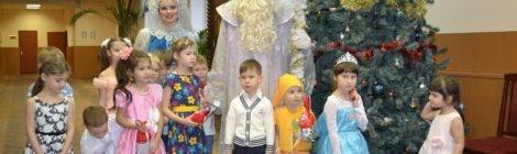 Новогодние елки для детей сотрудников УМВД России по Адмиралтейскому району