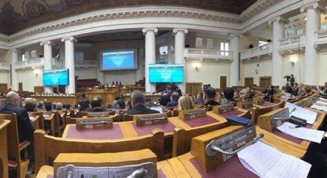 Заседание Совета законодателей Российской Федерации при Федеральном Собрании России.