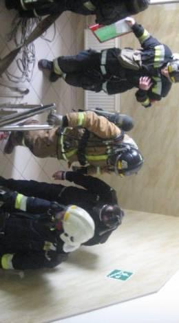 Пожарно-тактические учения в Адмиралтейском районе