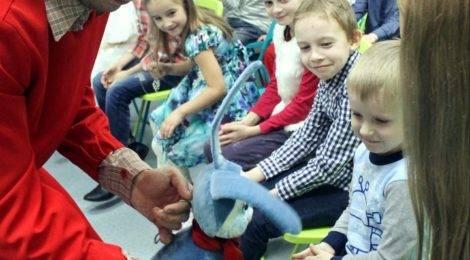 Зимние спектакли в Детской библиотеке