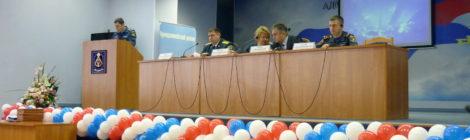 Сбор руководящего состава гражданской обороны Адмиралтейского района Санкт-Петербурга