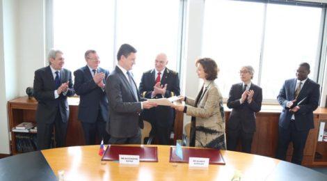 Правительство России и ЮНЕСКО подписали соглашение о создании в Санкт-Петербурге Центра компетенций