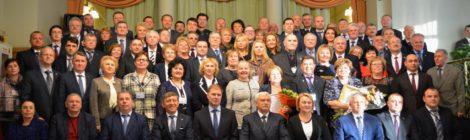 27 февраля в КДЦ Московский состоялся торжественный Съезд Совета муниципальных образований Санкт-Петербурга