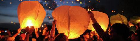 Правила безопасности при запуске небесных фонариков