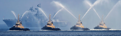 Организация дорожного движения при подготовке и проведении Главного военно-морского парада в 2018 году