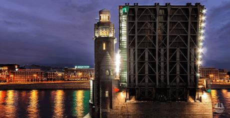 СПб ГБУ «Мостотрест» проводит ряд технологических разводок с целью обслуживания конструкций и оборудования разводных мостов