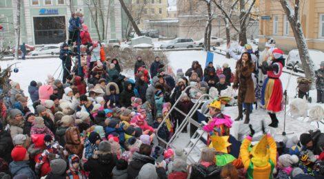 Новогодняя ёлка в саду им. Валентина Пикуля