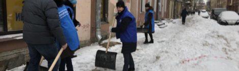 Зимний субботник