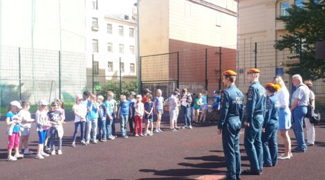 Фестиваль спорта и творчества «Безопасное лето» прошёл в Адмиралтейском районе!