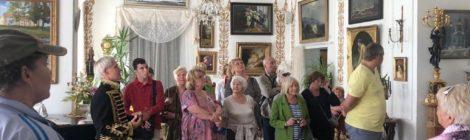 17 августа жители Муниципального образования Измайловское отправились на экскурсию в усадьбу Марьино.