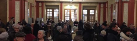 В преддверии 27 января, сегодня был организован кинопоказ фильма «Три дня до весны», в кинотеатре Родина