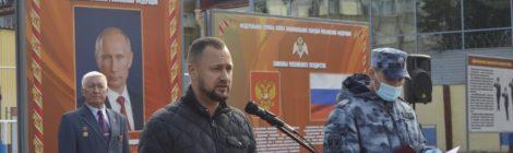 30 сентября состоялся торжественный митинг, посвященный 54 - ой годовщине образования войсковой части 5402.