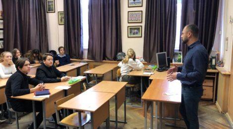 В рамках антинаркотического месячника для учащихся были проведены уроки